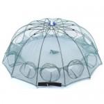 Раколовка зонтик на 8 входов, 1.20 метров