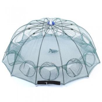 Раколовка зонтик на 6 входов, 1.00 метр