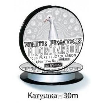 Леска BALSAX WHITE PEACOCK 30 m 0,16 mm