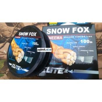 Шнур Snow Fox 100м -  0.35 мм