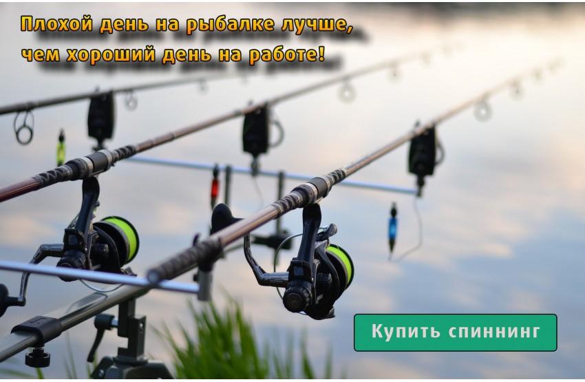 Купить спиннинг в Одессе